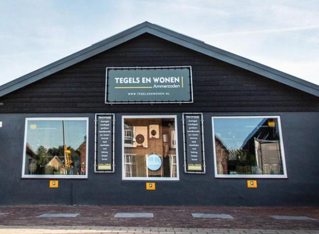 Wij zijn gevestigd in de winkel van Tegels & Wonen | Behangtopper.com